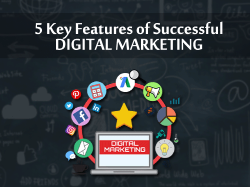 5 Key Features Of Successful Digital Marketing