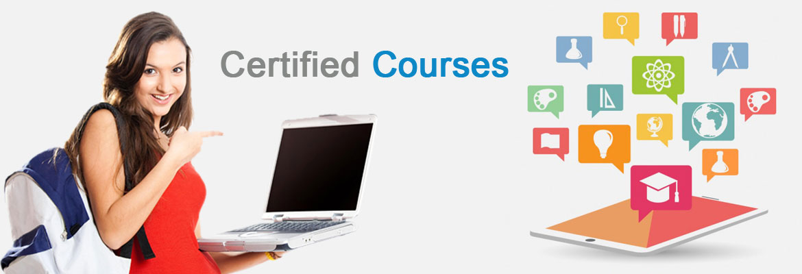 Certified Courses banner