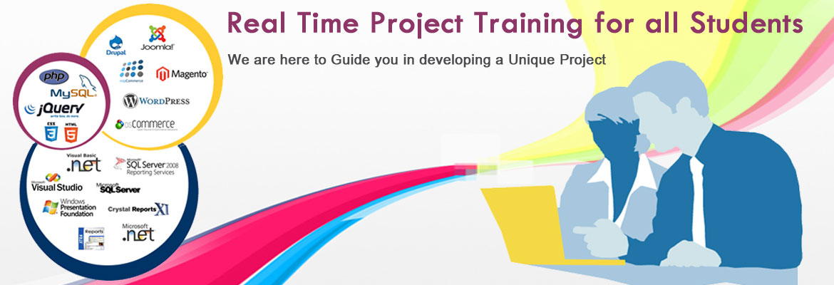 Project training in coimbatore,Web development training,certification