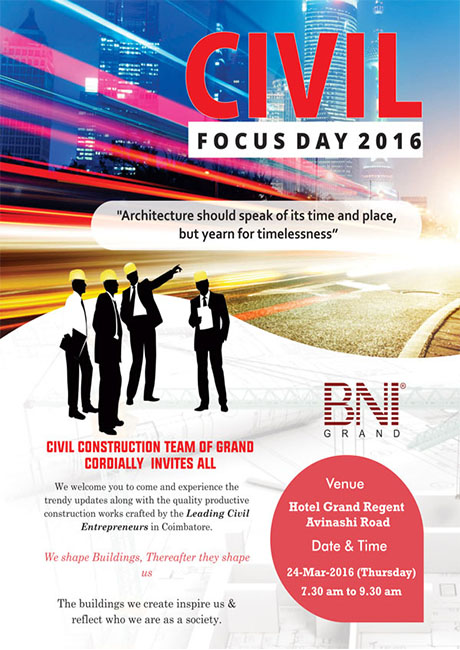 BNI Civil Focus Day 2016
