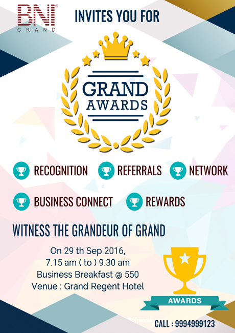 BNI Grand Awards