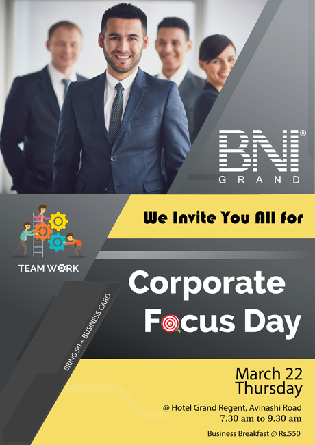 BNI - Corporate Focus Day
