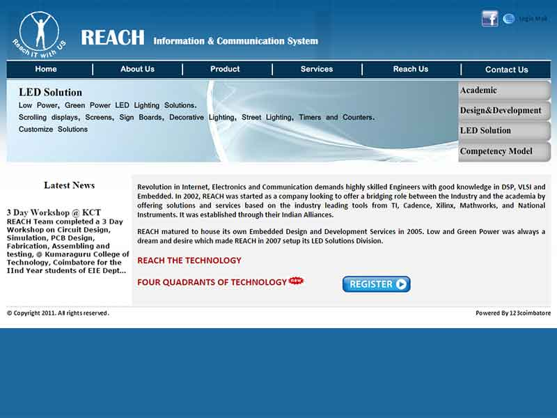 Reach Information & Communication System