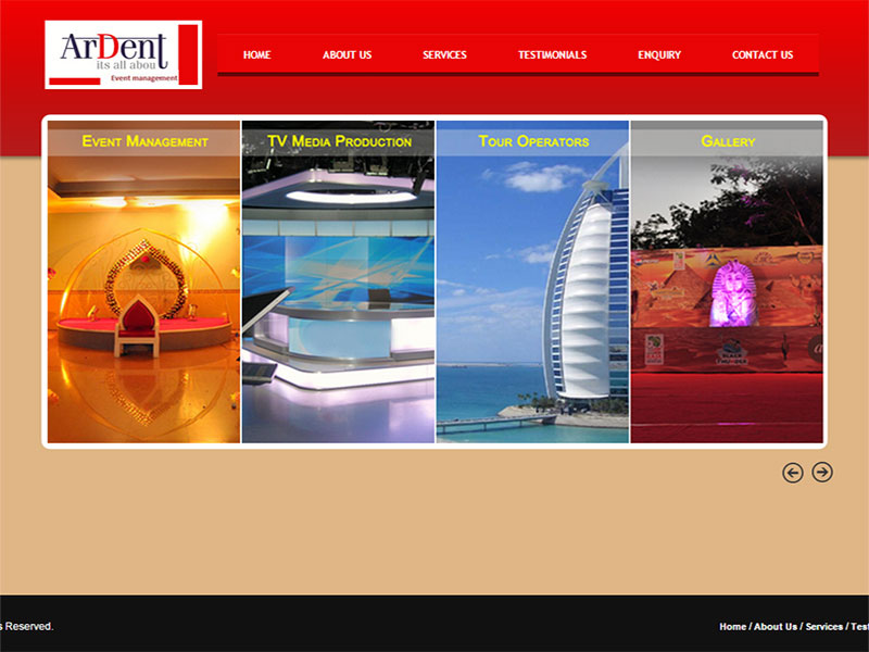 Ardent Event Management