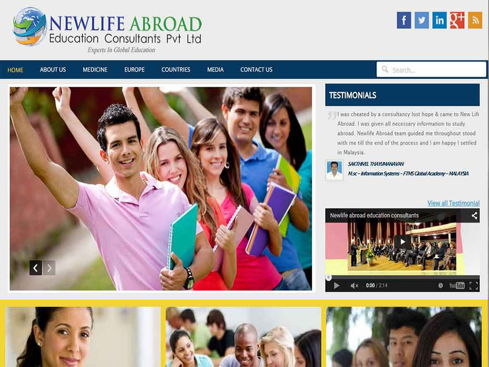 New Life Abroad Education