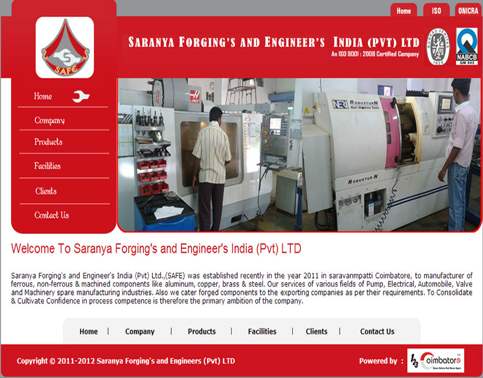 Saranya Forging`s and Engineers