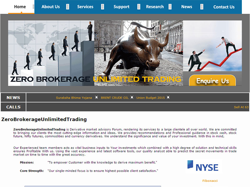 Zero Brokerage Unlimited Trading