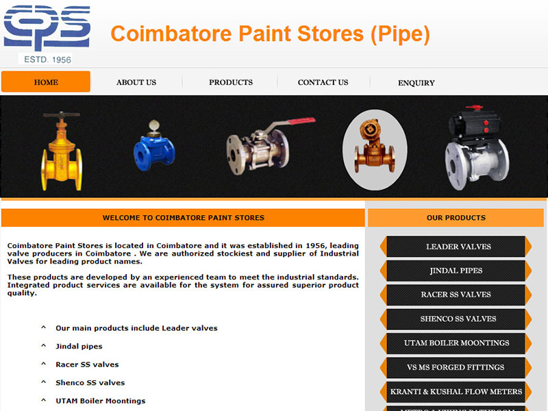 Coimbatore Paint Stores