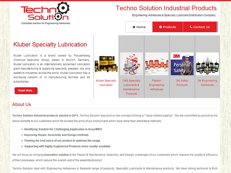 Techno Solution Industrial Products